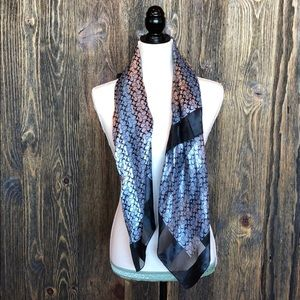 Large silk Coach scarf